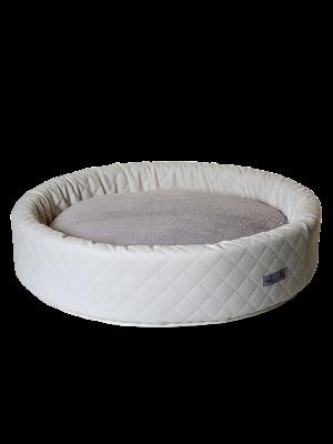 Round Bed Matelassè