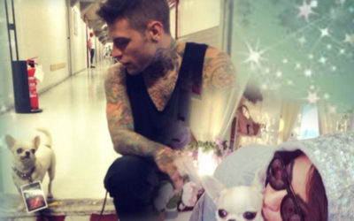 Celebrities: FEDEZ e la piccola Gue' in boutique da Prince and Princess a Milano!