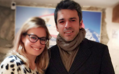 Celebrities: Luca Argentero da Prince and Princess a Courmayeur!