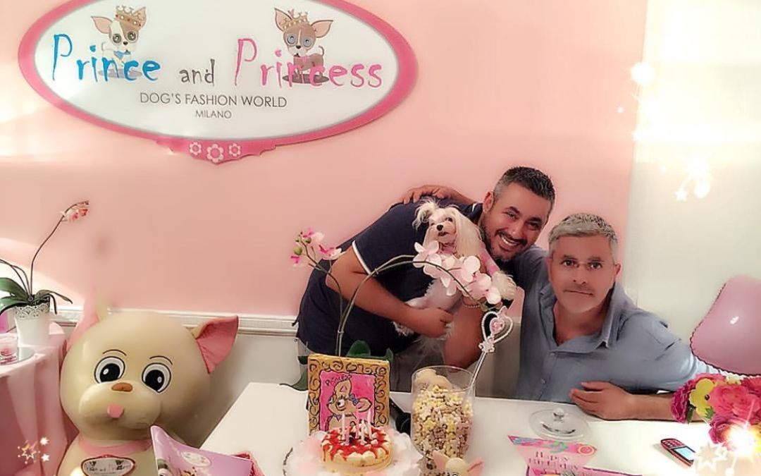 Celebrities: Enrico Lucci a Milano da Prince and Princess