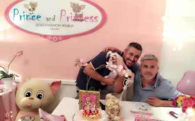 Celebrities: Enrico Lucci a Milano da Prince and Princess