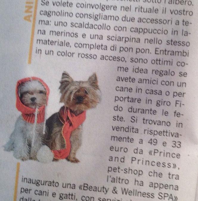 """Speciale Natale da Prince and Princess e """"Beauty & Wellness SPA"""" su VIVIMILANO del Corriere della Sera!"""