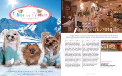 Prince and Princess Courmayeur sul magazine IMontBlanc!