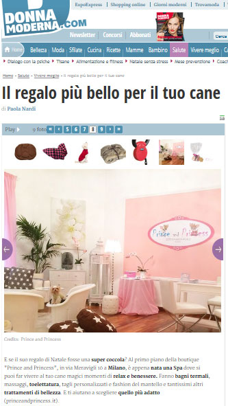 "Prince and Princess Milano: la ""Beauty & Wellness SPA"" su DonnaModerna.com"