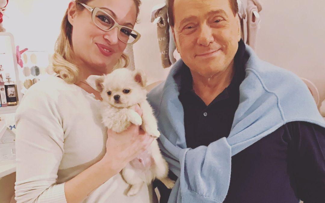 Celebrities: Silvio Berlusconi a Milano da Prince and Princess!