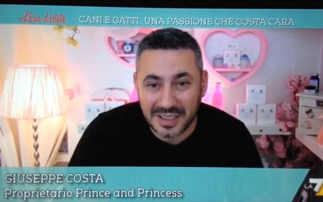 """Intervista: Prince and Princess a """"L'aria d'estate"""" su LA7"""